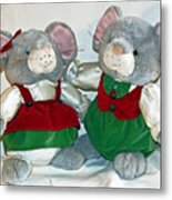 Mouse Love Metal Print