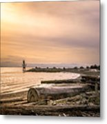 Mouth Of The Fraser Metal Print