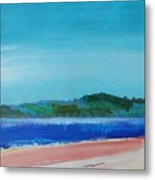 Mouth Of The River Exe Metal Print