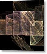 Movement And Light Metal Print