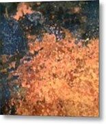 Movement Of Color I  Metal Print