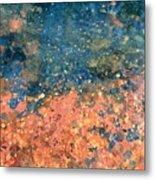 Movement Of Color Vii Metal Print