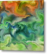 Movement Of The Natural World Metal Print