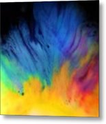 Movements In Color Metal Print