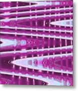 Moveonart Abstract Waves And Light One Metal Print