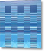 Moveonart Aqua Program 1 Metal Print