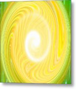 Moveonart Bright Newness 1 Metal Print