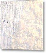Moveonart Brush Of An Angels Wing 1 Metal Print