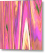 Moveonart Color Mood Waves One Metal Print