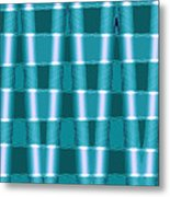 Moveonart Future Texture 1 Metal Print