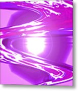 Moveonart I Call Forth The Violet Wave Metal Print