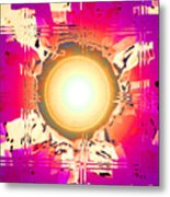 Moveonart May This Gift Of Light Help You Along Lifes Way Metal Print