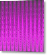 Moveonart Mysterious Violet Curtain Metal Print