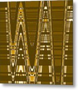 Moveonart New American Indian Architecture 2 1 Metal Print