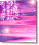 Moveonart New Dreamers City 2 Metal Print