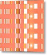 Moveonart Orange Interactive Spiritual Solutions Metal Print