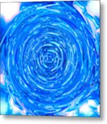 Moveonart Peace Renewal Planet Earth Metal Print