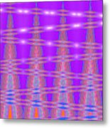 Moveonart Spontaneous Abstract 3 Metal Print