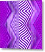 Moveonart Texture The Future 1 Metal Print