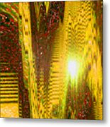 Moveonart The Light Shall Speak Metal Print