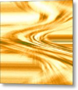 Moveonart They Say The Streets Are Paved With Gold Metal Print