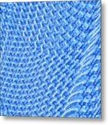 Moveonart Turquoise Knit Metal Print