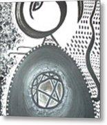 Moveonart Untitled 4 2005 Metal Print