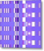 Moveonart Violet Interactive Spiritual Solutions Metal Print
