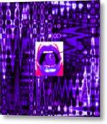 Moveonart Visualtherapytime03apr Metal Print