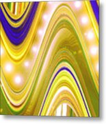 Moveonart Wave Of Enlightenment Four Metal Print