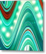 Moveonart Wave Of Enlightenment One Metal Print