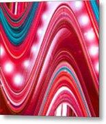 Moveonart Wave Of Enlightenment Three Metal Print