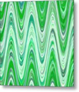 Moveonart Waves Of Good Fortune Metal Print