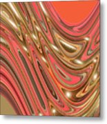 Moveonart Waves Of Interpretation Metal Print