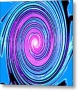 Moveonart Waves Of Renewal I Metal Print