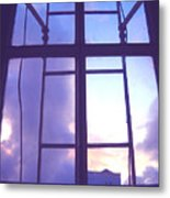 Moveonart Window Watching Series 5 Metal Print