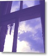 Moveonart Window Watching Series 6 Metal Print