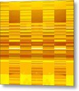 Moveonart Yellow Program Six Metal Print