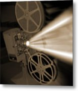 Movie Projector  Metal Print