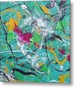 Moving Colors 2 Metal Print