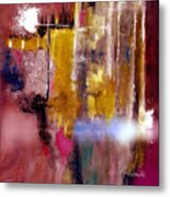 Moving Light Metal Print