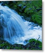 Moving Water Can Move Your Soul Metal Print
