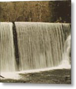 moving Waterfall Metal Print