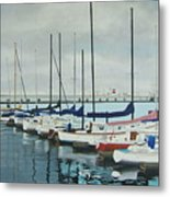 Mozells Boats Metal Print by Howard Stroman