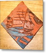 Mpeeka - Tile Metal Print