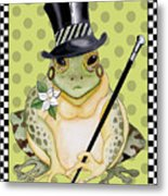Mr. Beau Frog Metal Print