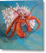 Mr. Crab Metal Print