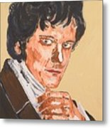 Mr. Darcy Metal Print