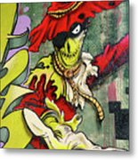 Mr. Graffiti Metal Print
