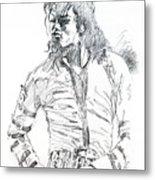 Mr. Jackson Metal Print